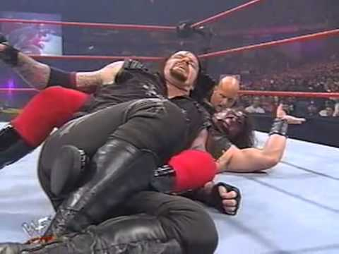Judgment Day 1998 Undertaker Vs Kane WWF Championship With Stone Cold As Guest Referee