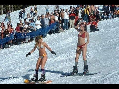 snowboarding girls Sexy