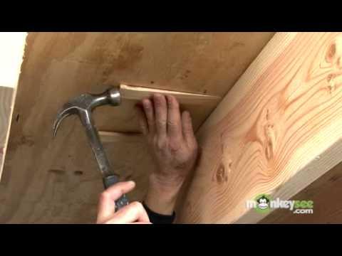 Fixing Floor Squeaks From the Underside