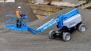 Product Demo: Genie Z™-60/37FE Articulating Boom Lift: Hybrid System - ANSI