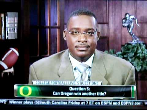 Brock Huard and Andre Ware pick UO to Win Pac12 title on College Football Live