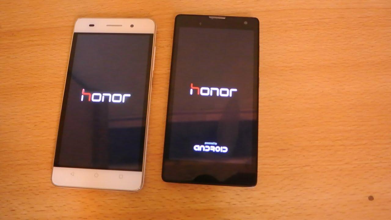 huawei honor 8 vs iphone 6s never