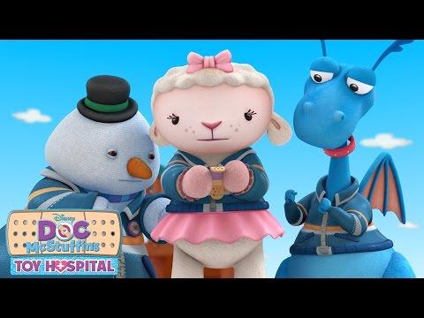 Stay on the Line | Music Video | Doc McStuffins | Disney Junior