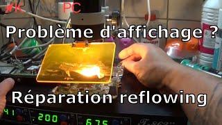 [TUTO] Problème d'affichage sur un pc portable une méthode de réparation le reflowing
