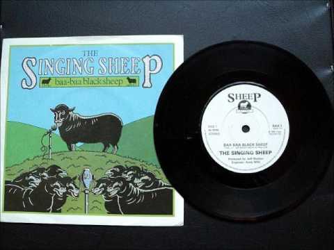 """The Singing Sheep - Baa Baa Black Sheep 7"""""""