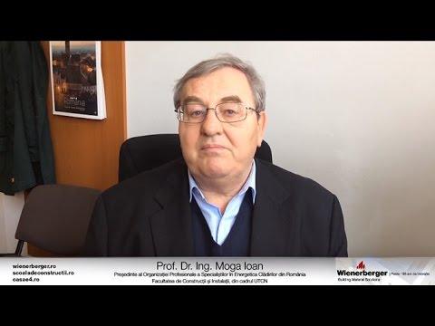 Despre case performante energetic, cu Prof. Dr. Ing. Ioan Moga