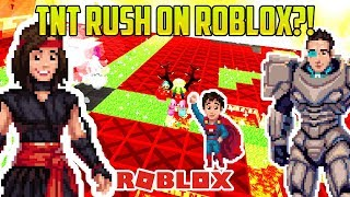 Roblox: MINECRAFT TNT RUSH?!