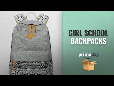 Top Selected Backpacks For Middle School Girls: Abshoo Cute Lightweight Canvas Bookbags School