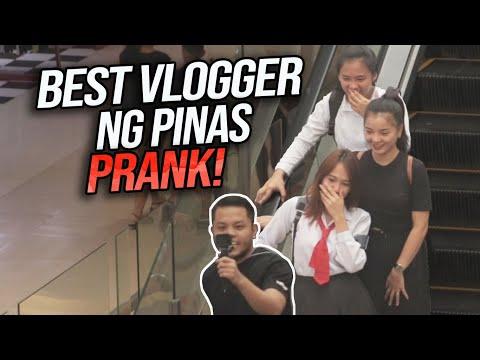 AWKWARD VLOGGING PRANK (Best Vlogger ng Pinas Haha)