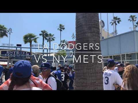 LA Dodgers VS NY Mets