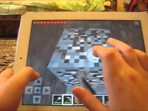 Как найти алмазы в Minecraft Pocket Edition 3 способ