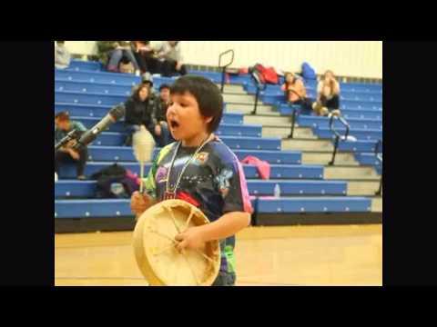 Hand Drum Competition (rough edit) Fall Pow Wow at Fond du Lac Ojibwe School