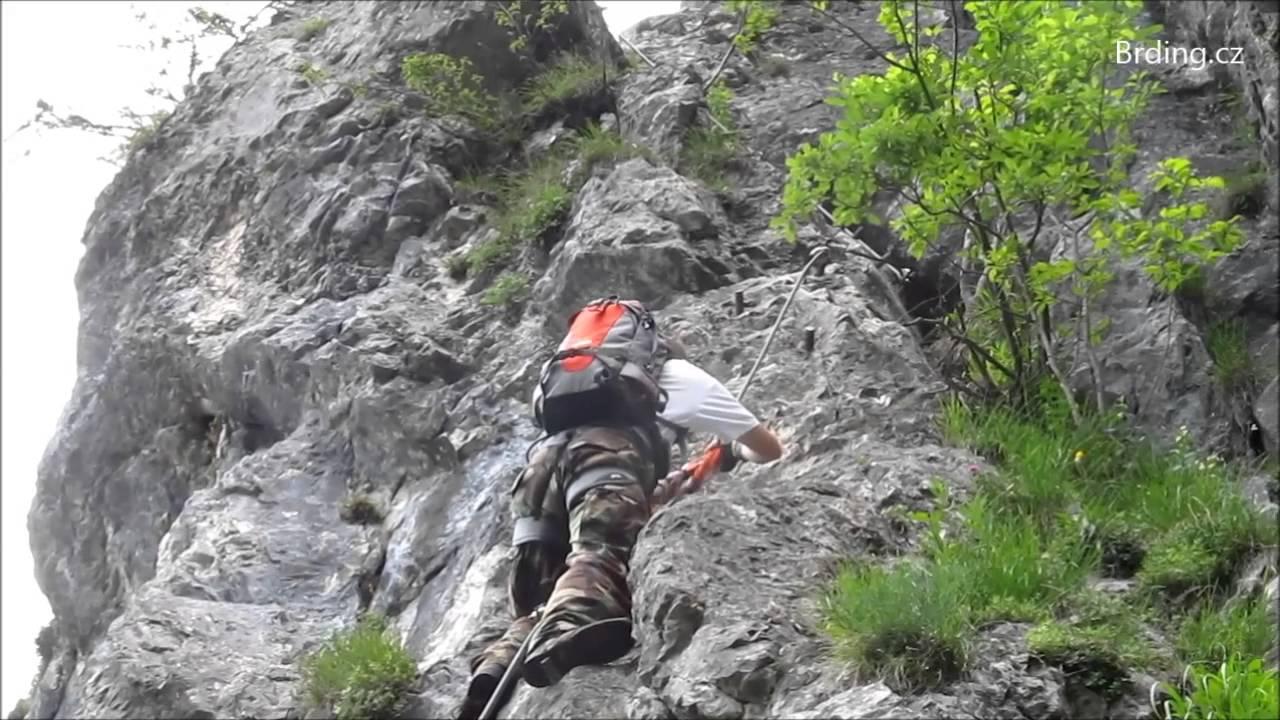 Klettersteig Rakousko : Klettersteig mahdlgupf červen rakousko youtube