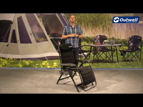 Outwell Acadia Camping Relax Chair  | Innovative Family Camping