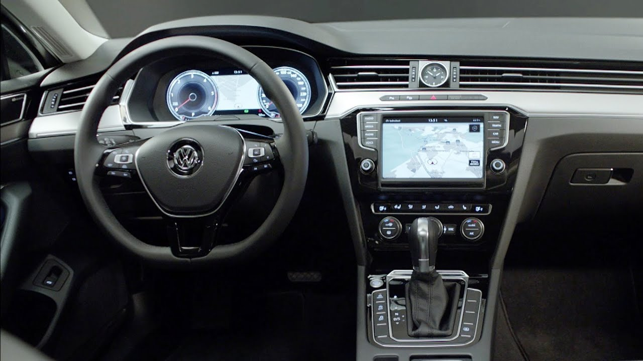 Ford Mondeo 2015 Interior >> New 2015 Volkswagen Passat - INTERIOR - YouTube