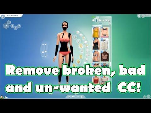 remove-custom-content!-||-sims-4-~-tutorials