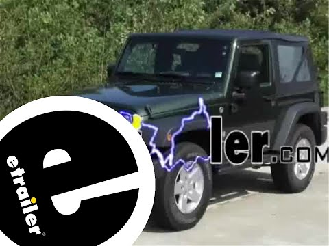 hqdefault wiring harness installation 2008 jeep wrangler etrailer com how to install jeep hardtop wiring harness at metegol.co