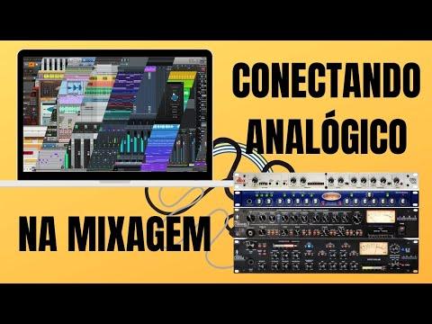 #Mixagem #Analógico - Insertando Equalizadores e Compressores na #DAW