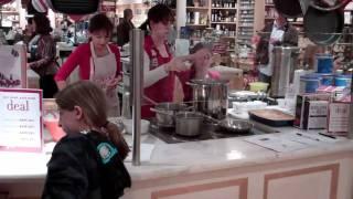 Avgolemono Soup Greek Cooking Demonstration Part 1
