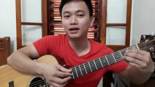 """Guitar hướng dẫn: Intro đôi """"Chân trần"""" - NS Y Moan - tông D"""