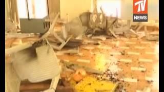 టీడీపీ కార్యాలయంపై కంచర్ల భూపాల్ రెడ్డి అనుచరుల దాడి,kancharla followers attacked on tdp office