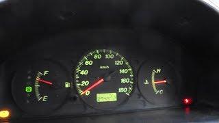 Не работает спидометр на Mazda Demio 2000 2002 год  с ABS. Ошибка P0500