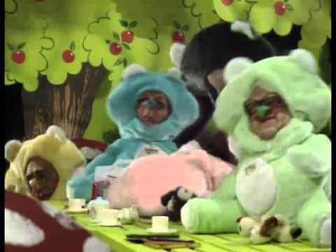 Don't-Care Bears, Spitting Image Series Four, episode three.