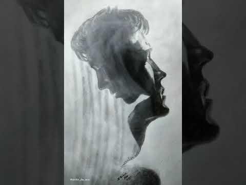 plz like and subscribe#Art#artist#sachinjha#portrait#drawing#painting#illustration#design#sketch.