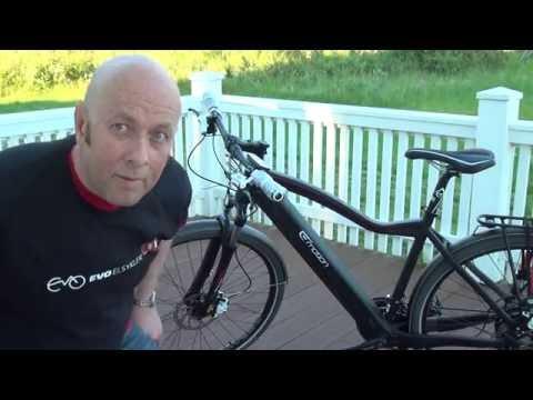 BH Emotion EVO Forhandlerpresentasjon av bruk av ny el-sykkel.
