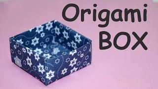 DIY crafts - Origami easy box / DIY beauty and easy