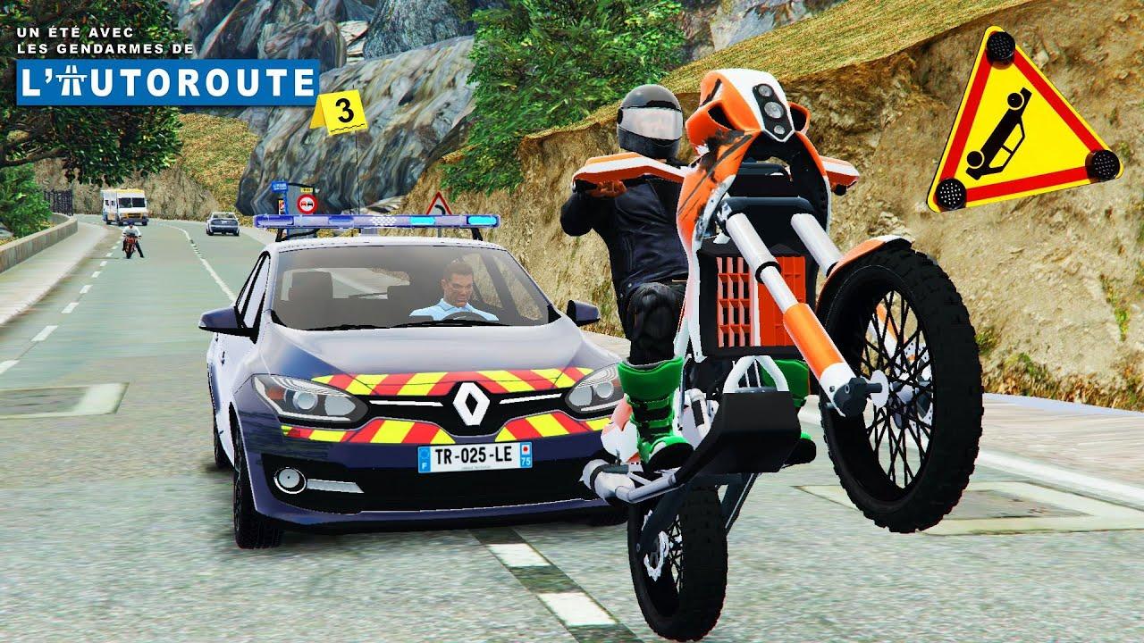 course moto autoroute