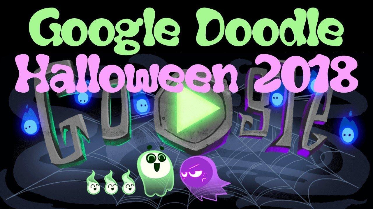 Halloween 2018 Google Doodle Youtube