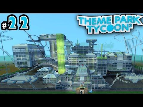 Theme Park Tycoon! Ep. 22: INSANE FUTURISTIC PARK (Space Themed) | Roblox