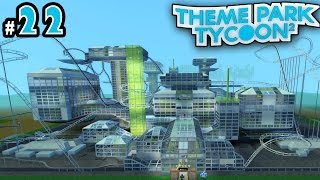 Theme Park Tycoon! Ep. 22: INSANE FUTURISTIC PARK (Space Themed) | Roblox