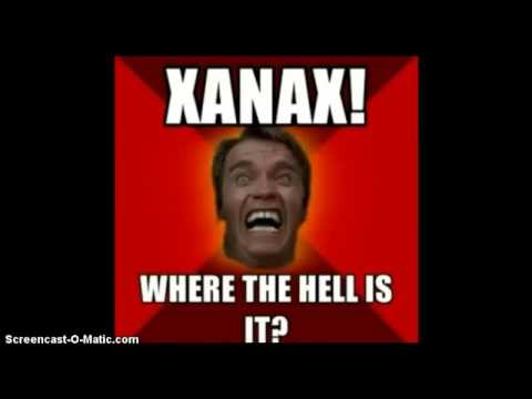 Xanax is the worst Black Out