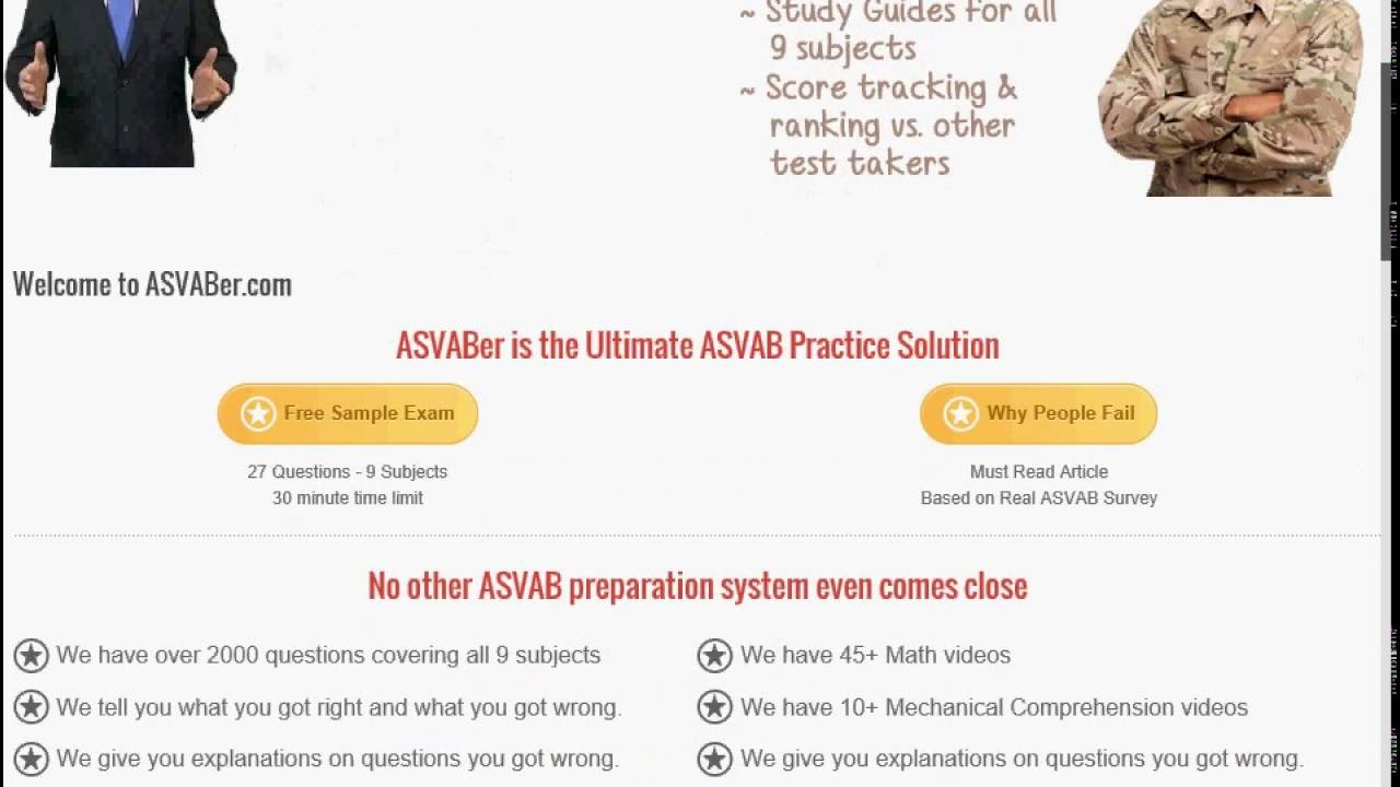 Asvab Practice Test Online - Asvaber