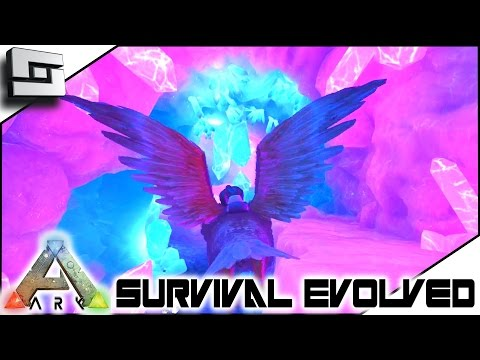 ARK: Survival Evolved - AMAZING NEW CAVE! S4E47 ( The Center Map Gameplay )