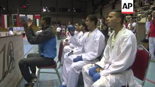 Egypt tops medals table at 10th Arab Karate Championships