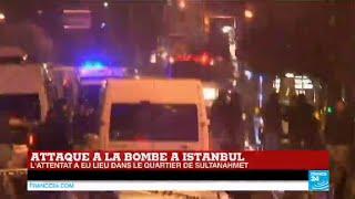 URGENT - Attentat à la bombe à Istanbul, 1 policier et la kamikaze tués - TURQUIE