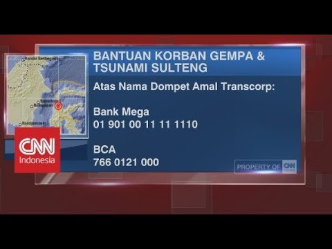 Salurkan Bantuan Anda Untuk Korban Gempa & Tsunami Sulteng Bersama Transcorp