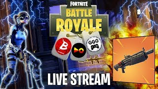 *New* Heavy Shotgun Update - Fortnite Battle Royale Live Stream ft. BADCompanySarge+GetGoodGuy