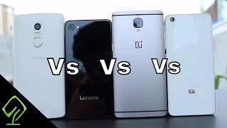 Moto Z Play vs lenovo Z2 Plus vs Mi5 vs Oneplus 3 vs Le Max2 vs Asus Zenfone 3 vs Lenovo vibe x3