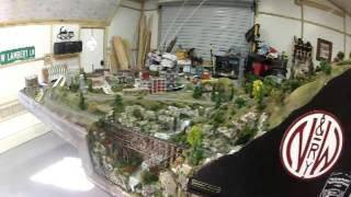 N Scale Layout Tour, Smokey Mountain Southern Railroad