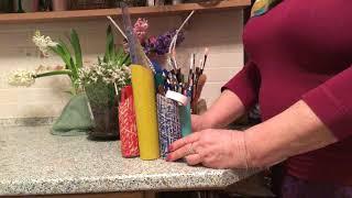 Бюджетная карандашница, мелочница, подарок из «ничего».