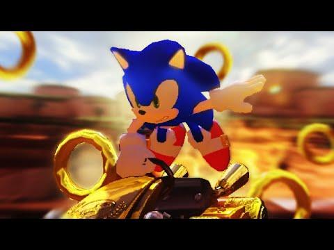 i turn Mario Kart into a Sonic Racing game |