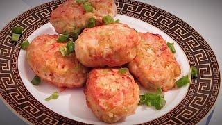 Кето рецепт /Сочные и очень вкусные Куриные котлеты с кабачком