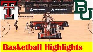 Baylor vs Texas Tech Basketbal…
