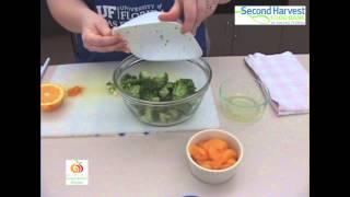 N.i.c.e. Recipe: Broccoli Mandarin Orange Salad