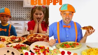 February 19, 2019 MAKING PIZZA WITH #1 FANS OF BLIPPI! SO MUCH FUN!