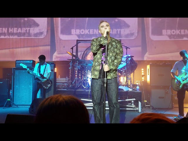 Morrissey returns to touring, airing Smiths and solo favourites for